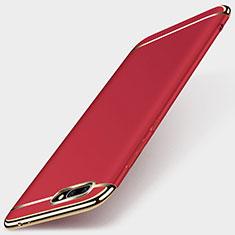 Coque Bumper Luxe Metal et Plastique pour Huawei Honor 10 Rouge