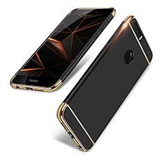 Coque Bumper Luxe Metal et Plastique pour Huawei Honor 8 Noir