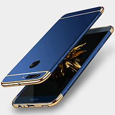 Coque Bumper Luxe Metal et Plastique pour Huawei Honor V9 Bleu