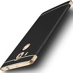 Coque Bumper Luxe Metal et Plastique pour Huawei Mate 8 Noir