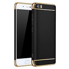Coque Bumper Luxe Metal et Plastique pour Xiaomi Mi 5 Noir