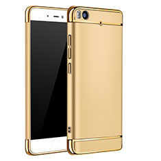 Coque Bumper Luxe Metal et Plastique pour Xiaomi Mi 5S 4G Or