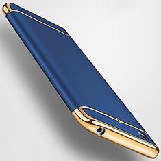 Coque Bumper Luxe Metal et Plastique pour Xiaomi Mi 5S Bleu