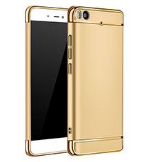 Coque Bumper Luxe Metal et Plastique pour Xiaomi Mi 5S Or