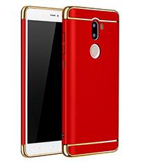 Coque Bumper Luxe Metal et Plastique pour Xiaomi Mi 5S Plus Rouge