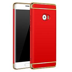 Coque Bumper Luxe Metal et Plastique pour Xiaomi Mi Note 2 Special Edition Rouge