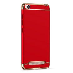 Coque Bumper Luxe Metal et Plastique pour Xiaomi Redmi 4A Rouge