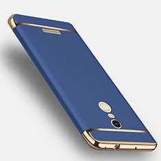 Coque Bumper Luxe Metal et Plastique pour Xiaomi Redmi Note 3 MediaTek Bleu