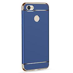 Coque Bumper Luxe Metal et Plastique pour Xiaomi Redmi Y1 Bleu