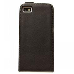 Coque Clapet Portefeuille Cuir pour Blackberry Z10 Noir