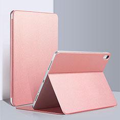 Coque Clapet Portefeuille Livre Cuir L03 pour Apple iPad Pro 12.9 (2018) Rose