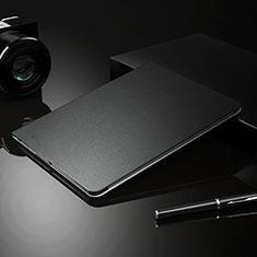 Coque Clapet Portefeuille Livre Cuir L04 pour Apple iPad Pro 11 (2018) Noir