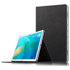 Coque Clapet Portefeuille Livre Cuir pour Huawei MatePad 10.8 Noir