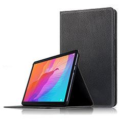 Coque Clapet Portefeuille Livre Cuir pour Huawei MatePad T 10s 10.1 Noir