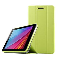 Coque Clapet Portefeuille Livre Cuir pour Huawei Mediapad T1 7.0 T1-701 T1-701U Vert