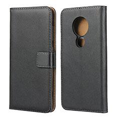 Coque Clapet Portefeuille Livre Cuir pour Nokia 7.2 Noir