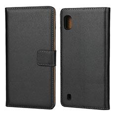 Coque Clapet Portefeuille Livre Cuir pour Samsung Galaxy A10 Noir