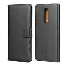 Coque Clapet Portefeuille Livre Cuir pour Sony Xperia 1 Noir