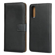 Coque Clapet Portefeuille Livre Cuir pour Sony Xperia 10 II Noir