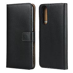 Coque Clapet Portefeuille Livre Cuir pour Sony Xperia 5 II Noir
