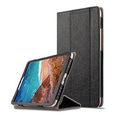 Coque Clapet Portefeuille Livre Cuir pour Xiaomi Mi Pad 4 Noir