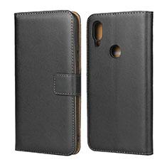 Coque Clapet Portefeuille Livre Cuir pour Xiaomi Redmi 7 Noir