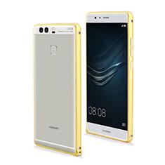Coque Contour Luxe Aluminum Metal pour Huawei P9 Plus Jaune