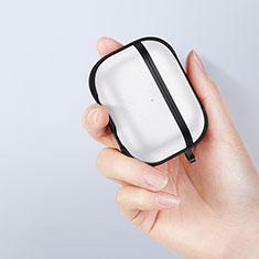 Coque Contour Silicone et Plastique Housse Etui Mat pour Apple AirPods Pro Noir