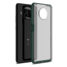 Coque Contour Silicone et Plastique Housse Etui Mat pour Xiaomi Mi 10T Lite 5G Vert