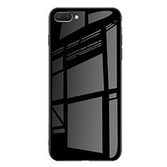 Coque Contour Silicone et Vitre Miroir Housse Etui Degrade Arc en Ciel pour Huawei Honor 10 Noir