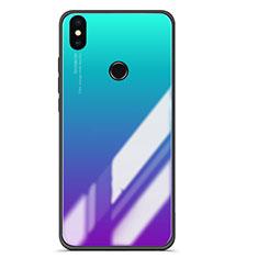 Coque Contour Silicone et Vitre Miroir Housse Etui Degrade pour Xiaomi Mi A2 Mixte