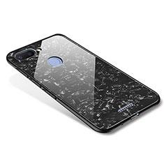 Coque Contour Silicone et Vitre Miroir Housse Etui pour Xiaomi Redmi 6 Noir