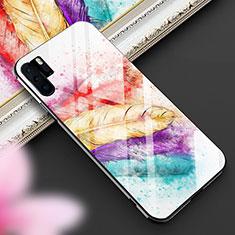 Coque Contour Silicone et Vitre Motif Fantaisie Miroir Etui Housse K01 pour Huawei P30 Pro Colorful
