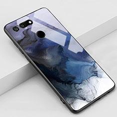 Coque Contour Silicone et Vitre Motif Fantaisie Miroir Etui Housse K03 pour Huawei Honor View 20 Gris