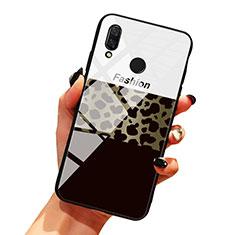 Coque Contour Silicone et Vitre Motif Fantaisie Miroir Etui Housse pour Huawei Honor 10 Lite Mixte