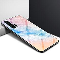 Coque Contour Silicone et Vitre Motif Fantaisie Miroir Etui Housse pour Huawei Honor 20 Pro Colorful