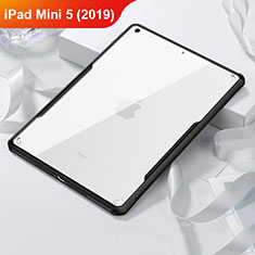 Coque Contour Silicone et Vitre Transparente Miroir pour Apple iPad Mini 5 (2019) Noir
