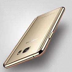 Coque Contour Silicone Transparente Gel pour Samsung Galaxy Note 5 N9200 N920 N920F Or