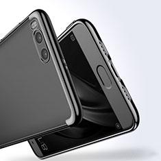 Coque Contour Silicone Transparente Gel pour Xiaomi Mi Note 3 Noir