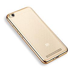 Coque Contour Silicone Transparente Gel pour Xiaomi Redmi 3 Or