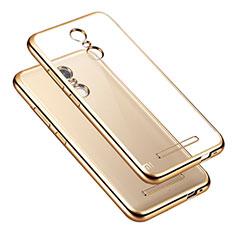Coque Contour Silicone Transparente Gel pour Xiaomi Redmi Note 3 Or