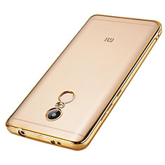Coque Contour Silicone Transparente Gel pour Xiaomi Redmi Note 4 Standard Edition Or