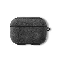 Coque en Cuir pour Boitier de Charge de AirPods Pro L01 pour Apple AirPods Pro Marron