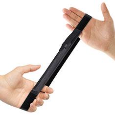 Coque en Cuir Protection Sac Pochette Elastique Douille de Poche Detachable P03 pour Apple Pencil Apple New iPad 9.7 (2018) Noir