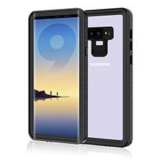 Coque Etanche Contour Silicone et Plastique Housse Etui Waterproof 360 Degres pour Samsung Galaxy Note 9 Noir