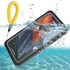 Coque Etanche Contour Silicone et Plastique Housse Etui Waterproof 360 Degres U01 pour Apple iPhone 11 Noir