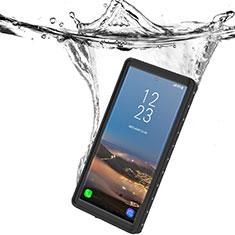 Coque Etanche Contour Silicone et Plastique Housse Etui Waterproof 360 Degres W01 pour Samsung Galaxy Note 10 5G Noir