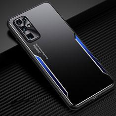Coque Luxe Aluminum Metal Housse Etui M01 pour Huawei Honor 30 Bleu