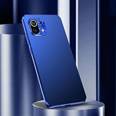 Coque Luxe Aluminum Metal Housse Etui M01 pour Xiaomi Mi 11 5G Bleu