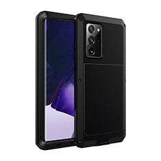 Coque Luxe Aluminum Metal Housse Etui N01 pour Samsung Galaxy Note 20 Ultra 5G Noir